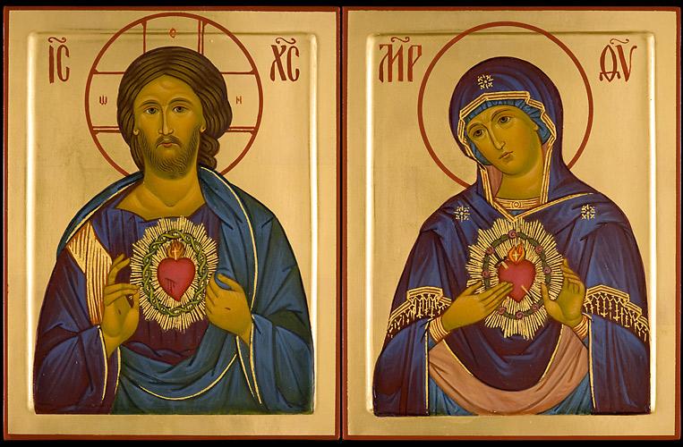 Praznik  Presvetega Srca Jezusovega in praznik Marijinega Brezmadežnega srca